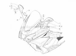 Aprilia - LEFT REAR-VIEW MIRROR - Image 1