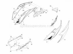 Aprilia - Self tapping screw D4x16 - Image 1