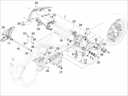 Suspensions - Wheels - Rear Suspension - Shock Absorber/S - Aprilia - Spring