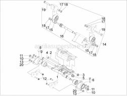 Aprilia - Plain washer 10,4x18x2 - Image 1
