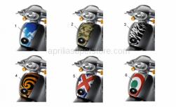 Genuine Aprilia Accessories - Acc. - Special Body Parts - Aprilia - SHIELD SCA 4T - MIMETIC