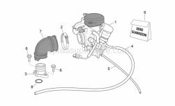 Engine - Carburettor I - Aprilia - Hex screw M6x22