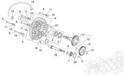 Engine - Transmission - Aprilia - Pin 6,5x9,5x15