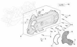 Engine - Variator Cover - Aprilia - Gasket