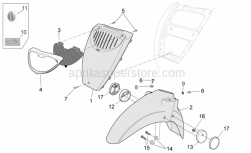 Frame - Front Body II - Aprilia - Self-tap screw 2,9x12