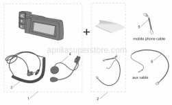 Accessories - Acc. - Various I - Aprilia - Radio wiring MobControl