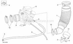Engine - Carburettor I - Aprilia - Clip M6