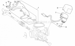 Engine - Carburettor III - Aprilia - Starter valve cover