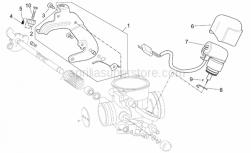 Engine - Carburettor III - Aprilia - Screw with washer