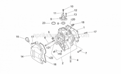 Engine - Cylinder Head - Aprilia - Nut M8