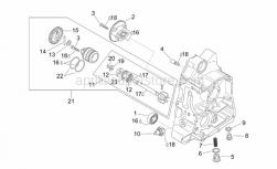 Engine - Rh Semi-Crankcase - Aprilia - Magnetic drain plug M12x1,5