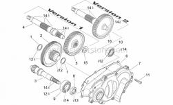 Engine - Transmission - Aprilia - Transmission cover