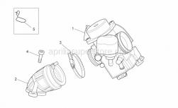 Engine - Variator - Primary Drive - Aprilia - Carburettor cpl. KEIHIN CVK 26