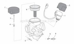 Engine - Carburettor II - Aprilia - Terminal