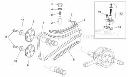 Complete chain tensioner