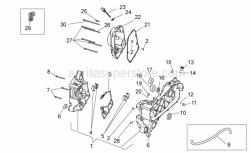 Engine - Crankcase - Aprilia - Bearing half-shel 2,005-2,010