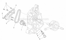 Engine - Oil Pump - Aprilia - Hex socket screw