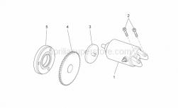 Engine - Starter Motor - Aprilia - CORONA EL