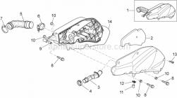 Frame - Air Box - Aprilia - SCREW W/ FLANGE M6X30