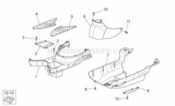 Frame - Central Body II - Aprilia - Underpanel