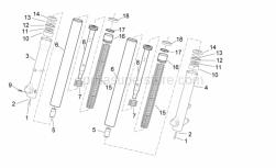 Frame - Fork Ii - Aprilia - DUSTGUARD