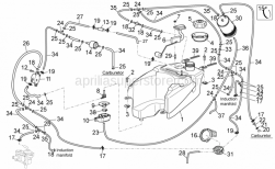 Frame - Fuel Vapour Recover System I - Aprilia - Clip M6