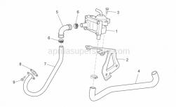 Frame - Secondary Air - Aprilia - screw M6x16