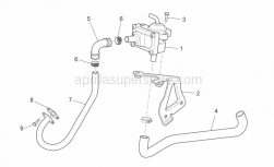 Frame - Secondary Air - Aprilia - CLAMP 019.8-706R