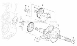 Engine - Drive Shaft - Aprilia - Transmission key