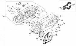 Engine - Engine Plastic - Aprilia - filter for transmission cover