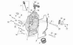Engine - Flywheel Cover - Aprilia - Screw w/ flange M6x25