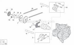 Engine - Valve Control - Aprilia - Screw w/ flange
