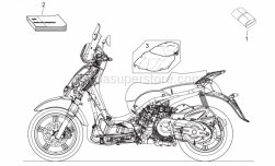 Frame - Completing Part - Aprilia - TOOLS KIT ROLL