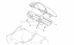 Frame - Dashboard - Aprilia - SPEEDOMETER