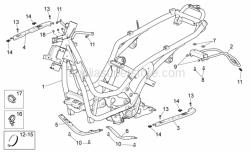 Frame - Frame - Aprilia - Hex socket screw