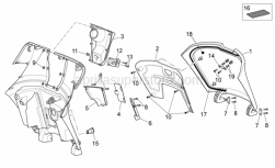 Frame - Front Body III - Aprilia - Washer for shafts D5