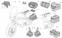 LH saddlebag support kit