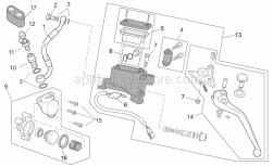 Frame - Clutch Pump - Aprilia - Tank cap