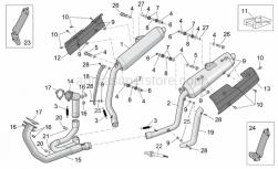 Frame - Exhaust Pipe - Aprilia - Clip M6
