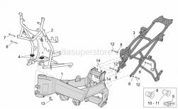 Frame - Frame I - Aprilia - Rubber spacer