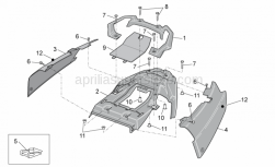 Frame - Rear Body - Aprilia - Clip m5