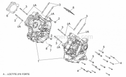 ENGINE - Crankcases I - Aprilia - Locating dowel (D.15,8)