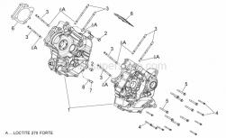 29 - Crankcases I - Aprilia - Stud bolt M10X1.25X166