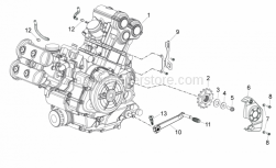 ENGINE - Engine - Aprilia - Screw w/ flange M10x1,25