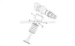 29 - Valves Pads - Aprilia - Calibrated tablet 3.00