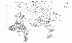 28 - Frame I - Aprilia - Shock absorber plate