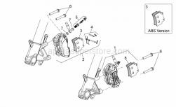28 - Front Brake Caliper - Aprilia - Front brake spring