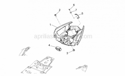 28 - Rear Body Ii - Aprilia - Self-tap screw 3,9x14