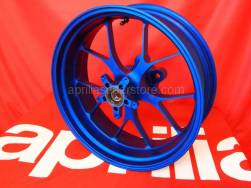 Frame - Rear Wheel Factory - Aprilia - Rear wheel, blue OZ-Alu