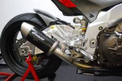 Tuono v4 - Exhaust - Graves Motorsports - Graves Motorsports Carbon Fiber Slip-On RSV4 / Tuono V4